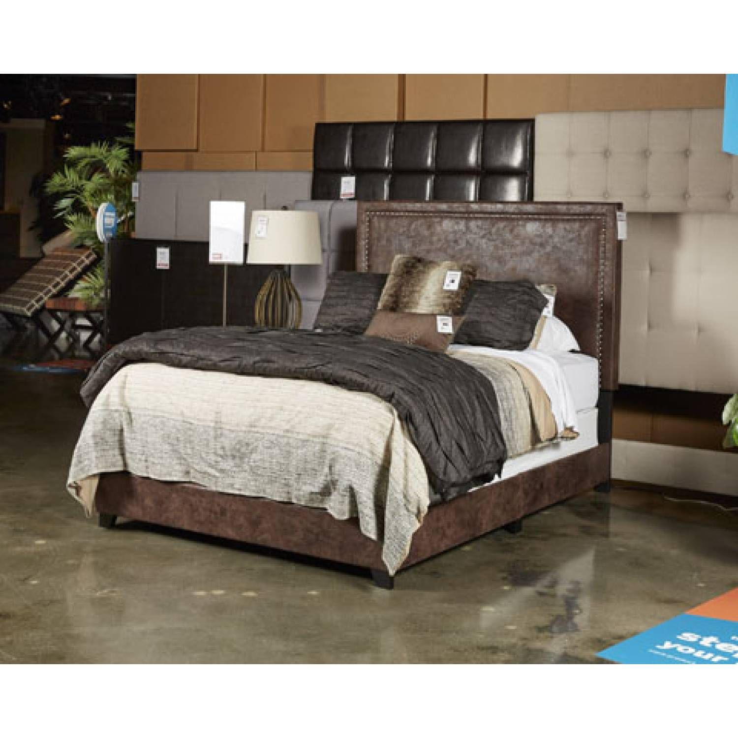 B130 Dolante King Upholstered Bed B130 282