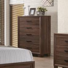 Brandon Transitional Five Drawer Chest