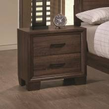 Brandon Transitional Two Drawer Nightstand