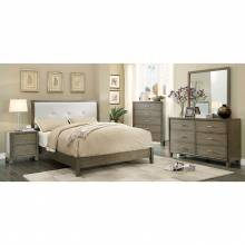 ENRICO I 4 PC SETS (QUEEN BED + DRESSER + MIRROR + NIGHT STAND )