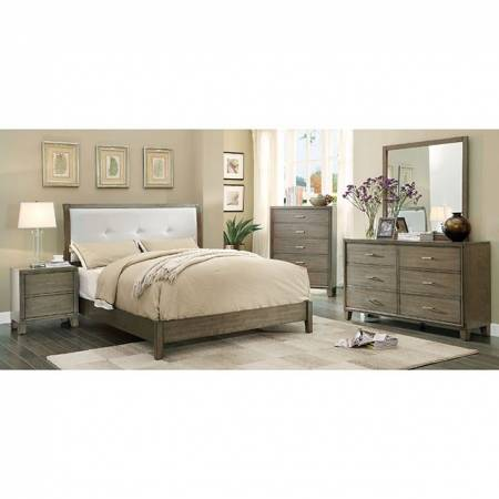 ENRICO I 5 PC SETS (QUEEN BED + DRESSER + MIRROR + NIGHT STAND + CHEST)