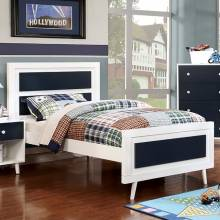 ALIVIA FULL BED BLUES WHITE CM7850BL-F