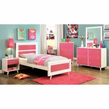 ALIVIA TWIN  BED +  1NS +DRESSER + MIRROR CM7850PK-GROUP4