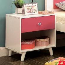 ALIVIA NIGHT STAND PINKS WHITE CM7850PK-N