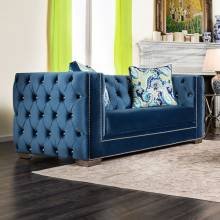 SALVATORE LOVE SEAT Lapis Blue SM2280-LV