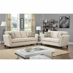 2 Pc Set CAMPBELL SOFA + LOVE SEAT CM6095IV-GROUP2
