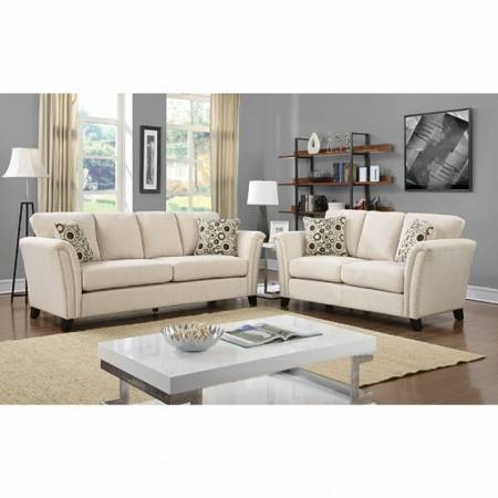 3 Pc Set CAMPBELL SOFA + LOVE SEAT + CHAIR CM6095IV-GROUP