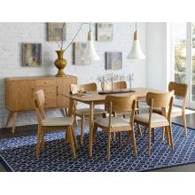 Anika Dining 5PC set (TABLE+4SIDE CHAIRS)