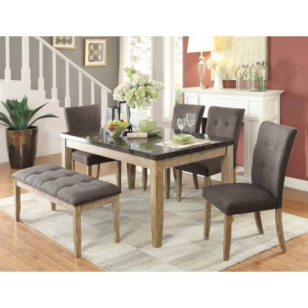 Huron Dining 5PC set (TABLE+4SIDE CHAIRS)