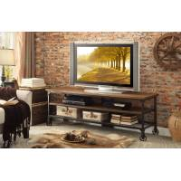 Millwood 65-inch TV Stand - Distressed Ash