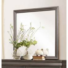 Mayville Mirror - Stained Grey