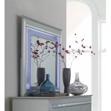 Allura Mirror, LED Lighting - Silver