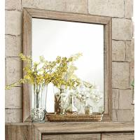Beechnut Panel Mirror - Light Elm