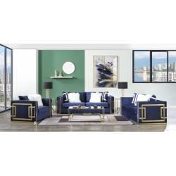 LV00293-3PC 3PC SETS Virrux Sofa + Loveseat + Chair