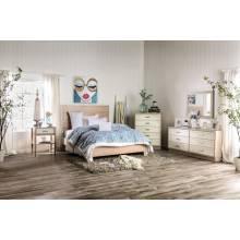 FOA7605Q-4PC 4PC SETS ROSEBURG BED