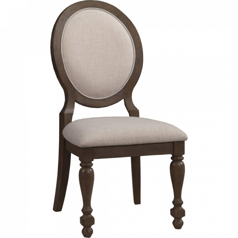 Peachy 7186 Alpine Furniture 7186 02 Galena Dining Chair Light Grey Walnut Fabric Short Links Chair Design For Home Short Linksinfo