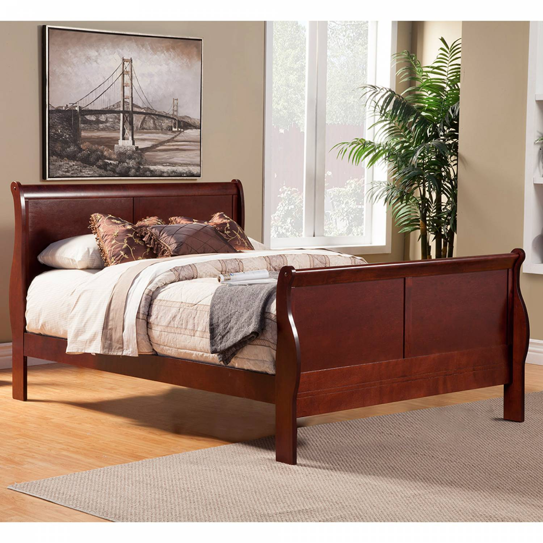 2700 Alpine Furniture 2700t Louis Philippe Ii Twin Size