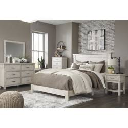 B434 Hollentown 5PC SETS King Panel Bed