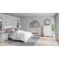 B2640 5PC SETS Queen Panel Bed