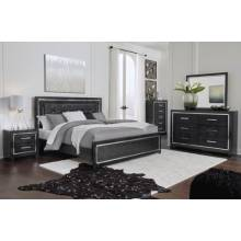 B1420 4PC SETS King Panel Bed