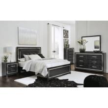 B1420 4PC SETSS Queen Panel Bed
