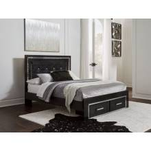 B1420 Queen Panel Storage Bed