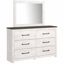 B1190-31-36 Gerridan Dresser + Mirror