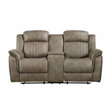 9479SDB-2 Double Reclining Love Seat with Center Console