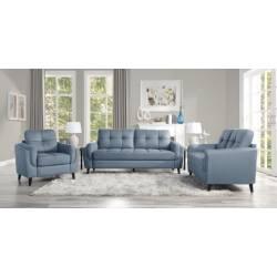 9340BU*3 3PC SETS Sofa + Love Seat + Chair