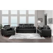 9309BK*3 3PC SETS Sofa + Love Seat + Chair