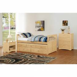 B2043PR-1*9 5PC SETS Twin/Twin Trundle Bed