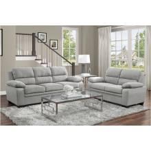 9333GY*2 2PC SETS Sofa + Love Seat