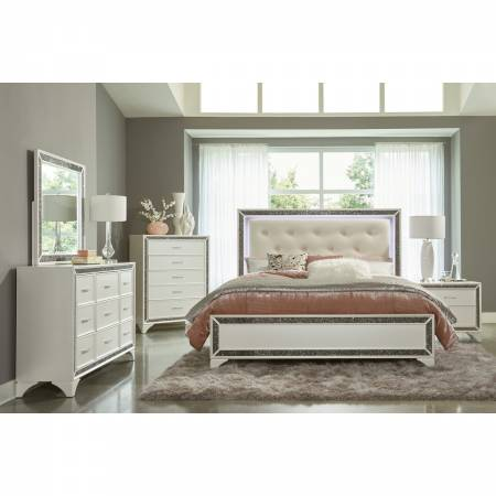 1572W-1*9 5PC SETS Queen Bed
