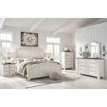 B763 4PC SETS Nashbryn Queen Panel Bed