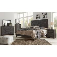 B381 4PC SETS Paxberry King Panel Bed