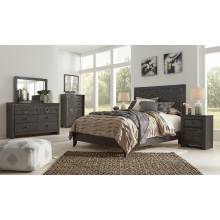 B381 4PC SETS Paxberry Queen Panel Bed