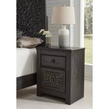B381 Paxberry Two Drawer Night Stand