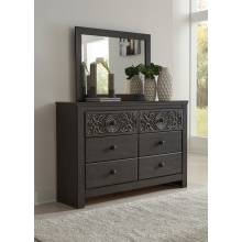 B381-31-36 Paxberry Dresser + Mirror