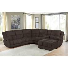 602570 6 PC MOTION SECTIONAL