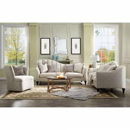 55305-3PC 3PC SETS Athalia Sofa w/4 Pillows + Loveseat w/3 Pillows + Chair w/1 Pillow