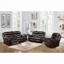 Flavie Sofa (Power Motion) - 52005 - Leather Match