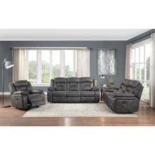 9989GY*3 3PC SETS Sofa + Love Seat + Chair