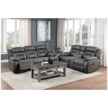 9989GY*2 2PC SETS Sofa + Love Seat