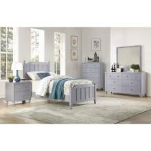 1803GYT-1*4 4PC SETS Twin Bed + Night Stand + Dresser + Mirror