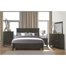 1675K-1CK*4 4PC SETS California King Bed + Night Stand + Dresser + Mirror