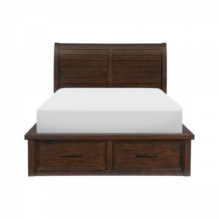 1559-1* Queen Platform Bed