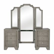 1546-15* Vanity Dresser with Mirror