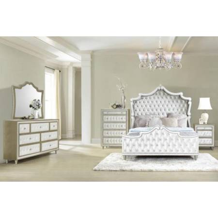 223521KW-S4 4PC SETS C KING BED
