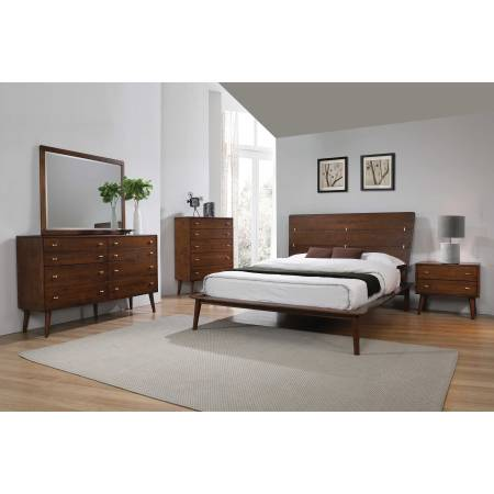 222601KE-S5 5PC SETS Wenham Eastern King Bed + Nightstand + Dresser + Mirror + Chest