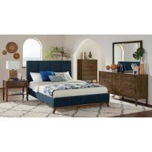 300626F-S4 4PC SETS Charity Full Bed + Nightstand + Dresser + Mirror